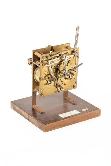 Musteruhrwerk für die Uhrmacherschule Furtwangen, Lorenz Furtwängler, um 1900