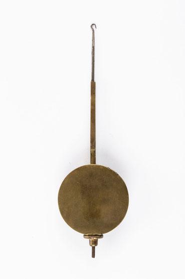 Pendel der Schwarzwälder Tischuhr (Stockuhr)