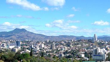 Panorámica de Tegucigalpa M.D.C.