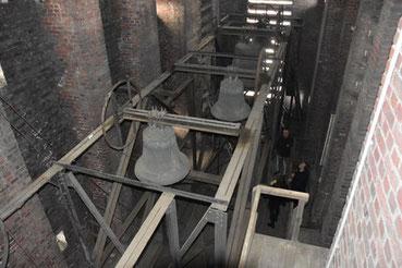 Die Glocken von Heilig Kreuz - Foto Pressestelle Stadt Gelsenkirchen
