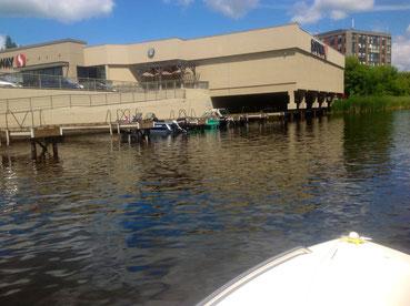 Safeway le parking à bateaux
