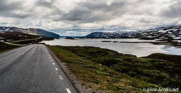 Шведские дороги на севере очень живописны!
