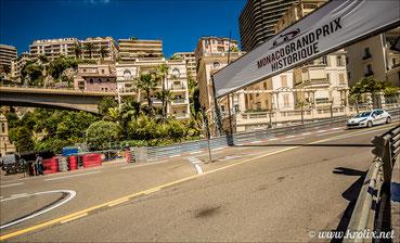 Поворот Сен-Дево и выезд из боксов, трасса Монте-Карло