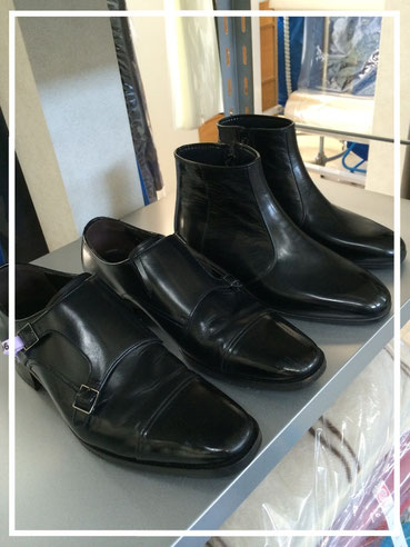 ブーツと靴のクリーニング