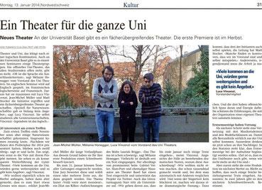 BZ Basel Unitheater Basel