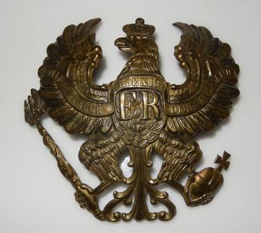 aigle de casque à pointe Prusse modèle 1871