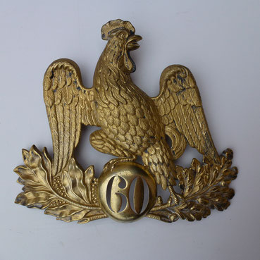 plaque de shako officier 1837