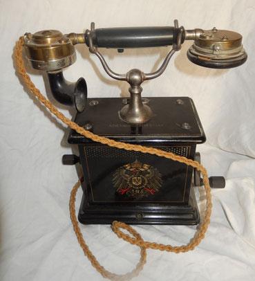 téléphone prussien ww1  modèle 1905