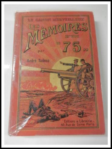 les mémoires d 'un canon de 75