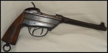 pistolet werder mle 1869