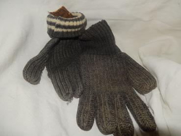 gants en laine réglementaire allemand ww 2