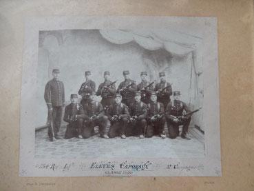 134 reg inf  caporaux classe 1899  2e compagnie dijon