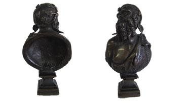 bronze dionysos XIXème Bacchus