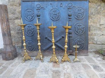 piques cierges bronzes