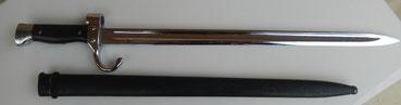 baionnette mousqueton berthier mod 1892