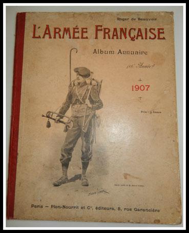 annuaire armée française 1907