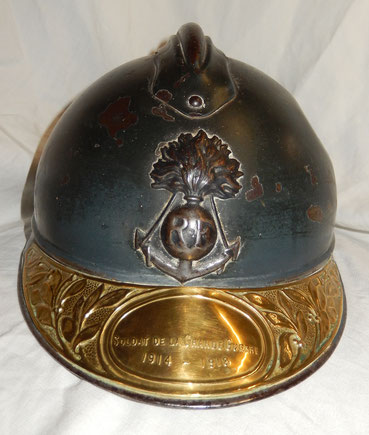 casque adrian  mod 15 coloniale