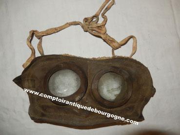lunette anti-gaz meyrowitz ww1 1915