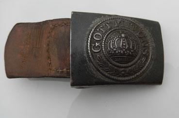 plaque ceinturon prussien