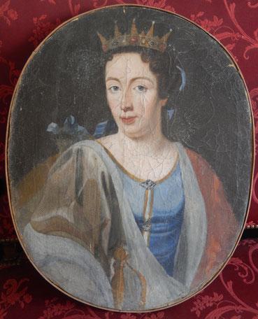 "huile sur toile "" comtesse """