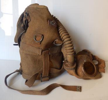 masque anti gaz belge M 1929