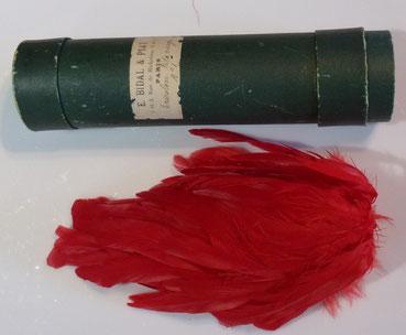 plumet retonmbant rouge bidal