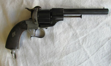 revolver lefaucheux mle 58 civil