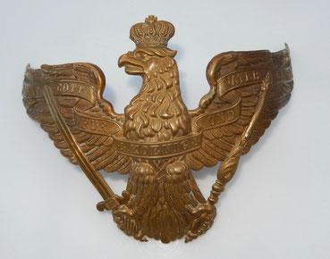 aigle casque de grenadier modèle 1860 Prusse