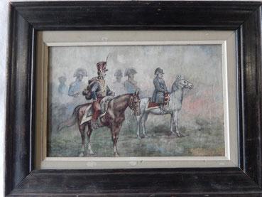 aquarelle empire Napoleon