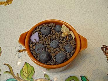 Thé aux myrtilles du Grand-Duché d'Oniroscopie - San Damon