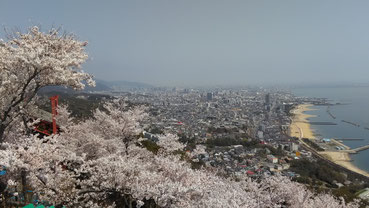須磨浦山上から東方面の景色