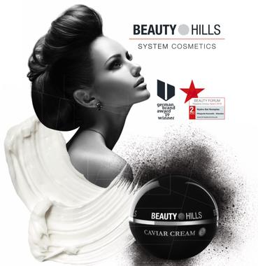 Beauty Hills, Kosmetik, Kaviar, Caviar, Luxus Hautpflege, Reife Haut ab 40 Jahre