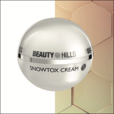 Beauty Hills, Kosmetik, Gold, Snowtox Cream, Mineralien in der Kosmetik