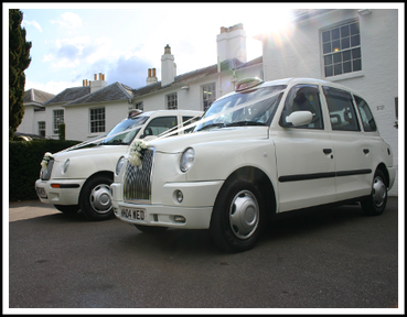 Modern TX Wedding Taxis Pembroke Lodge Richmond Surrey