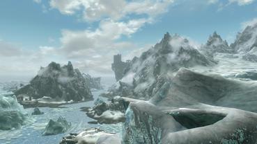 Skyrim, ein Paradies für Wintersportler [Quelle: Bethesda]