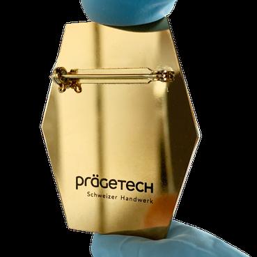 Laserbeschriften und Prägeschrift von Prägetech AG