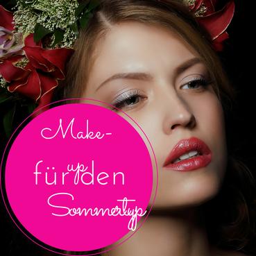 Make Up Fur Den Sommertyp Schritt Fur Schritt Erklart Konkrete