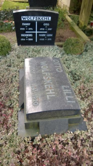Grabstätte Otto und Lilli Wolfskehls, Alter Friedhof / Foto: Martin Remmele (FLS)
