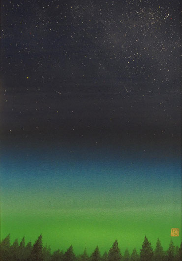「明け空に」 P3号 ¥105,000