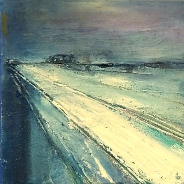 BDL 2011, Öl auf Leinwand 20 x 20 cm