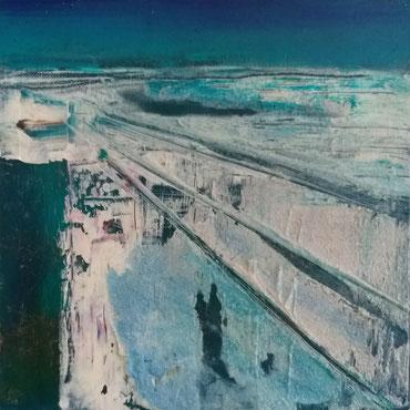 BDL 2010, Öl auf Leinwand 20 x 20 cm