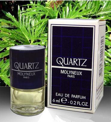 MOLYNEUX - QUARTZ : EAU DE PARFUM 6 ML