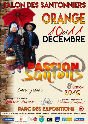 salon des santonniers 2016 orange vaucluse 84