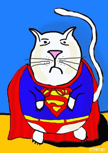 Für Rudi...ist Rudi der größte Superheld im Ort!