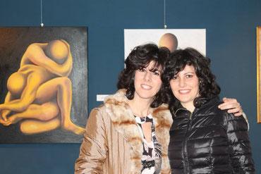 Con Francesca Nicoli