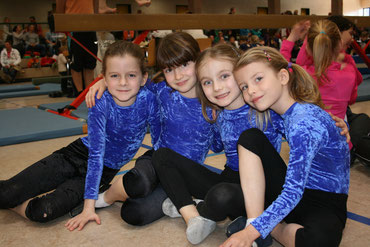 Team Annett (Roxana, Malena, Felizia, Luisa)