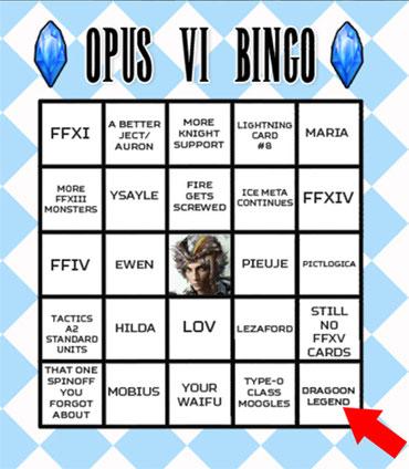 Auch das Opus 6 Bingo prophezeite es: eine Dragoon Legend musste endlich her!