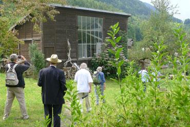 Atelier Iseltwald während der Promenade 2014