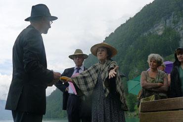 Szene am See