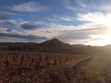 Couché de soleil hivernal sur le Mont Gèbre
